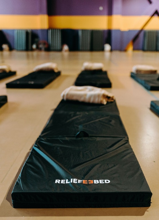 Building Relief Beds for Charity